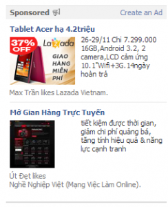 Hiểu đúng về Facebook Ads & Sponsored Stories